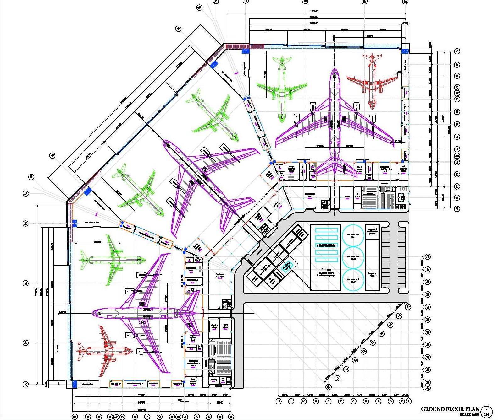 Aircraft Hangar Construction